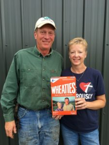 Mentors on wheaties box