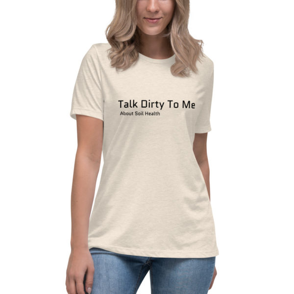 Talk Dirty To Me About Soli Health ladies shirt
