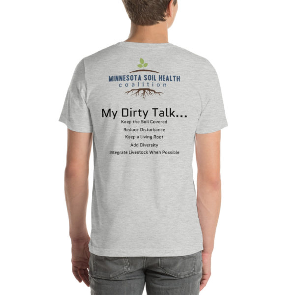 about soil health tshirt